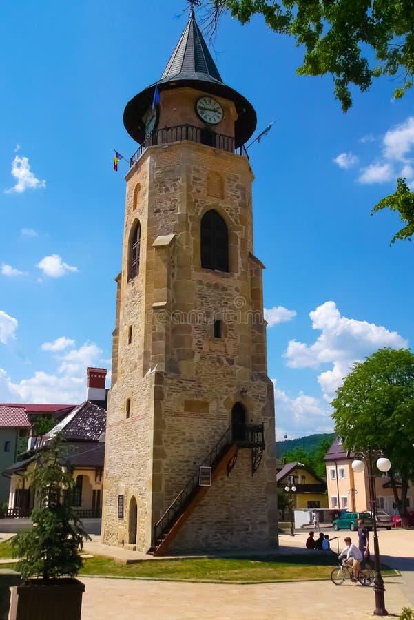 Torn på Piatra Neamt arkivfoton