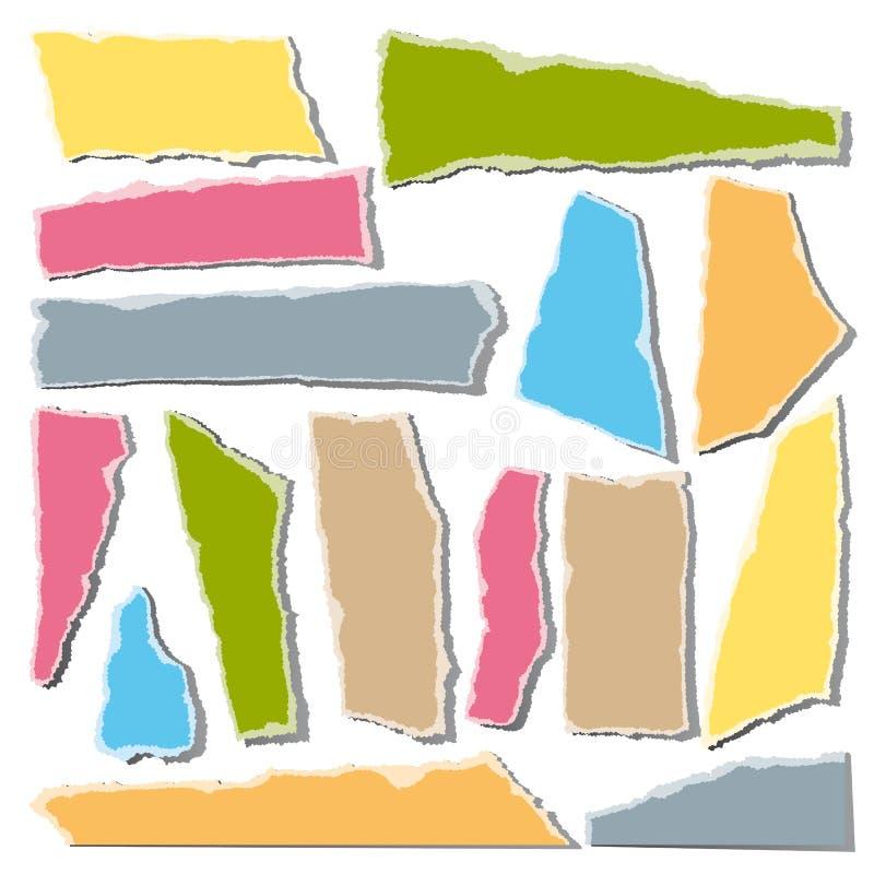 Torn paper vector illustration
