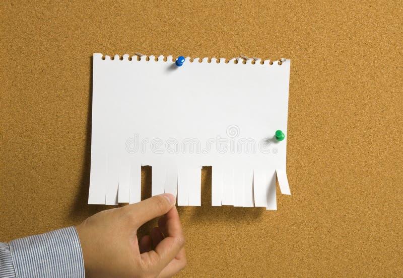 Torn Paper stock photos