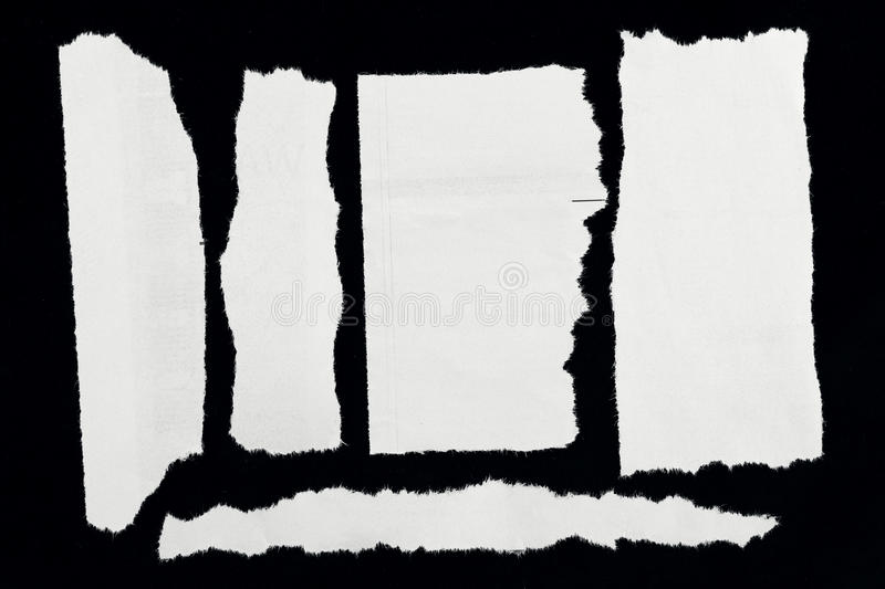 Download Torn paper stock image. Image of news, frayed, copy, macro - 28670909