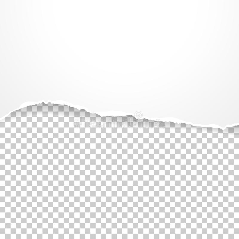 Free Torn Paper Banner On The Transparent Background. Vector Illustration Stock Image - 73781291