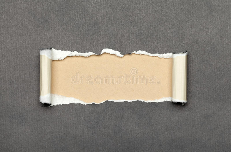 Download Torn Paper With Beige Space For Your Message Royalty Free Stock Photo - Image: 27149435
