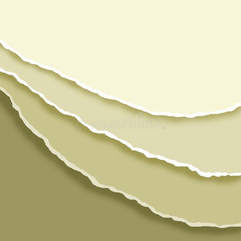Download Torn paper edge stock illustration. Image of illustration - 24501302