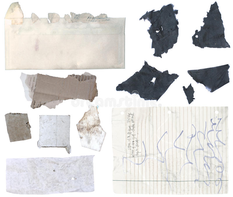 Torn Paper 1 stock image