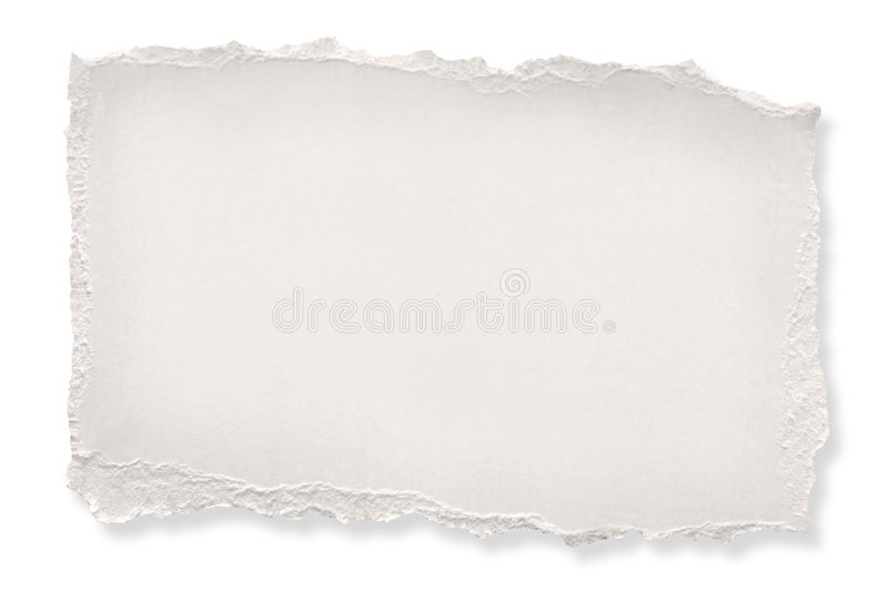 Torn Paper (with Path) stock images