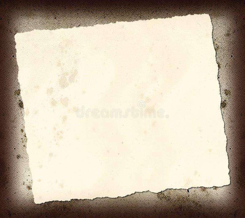 Download Torn Paper Scrap stock image. Image of grunge, rock, paper - 9774217