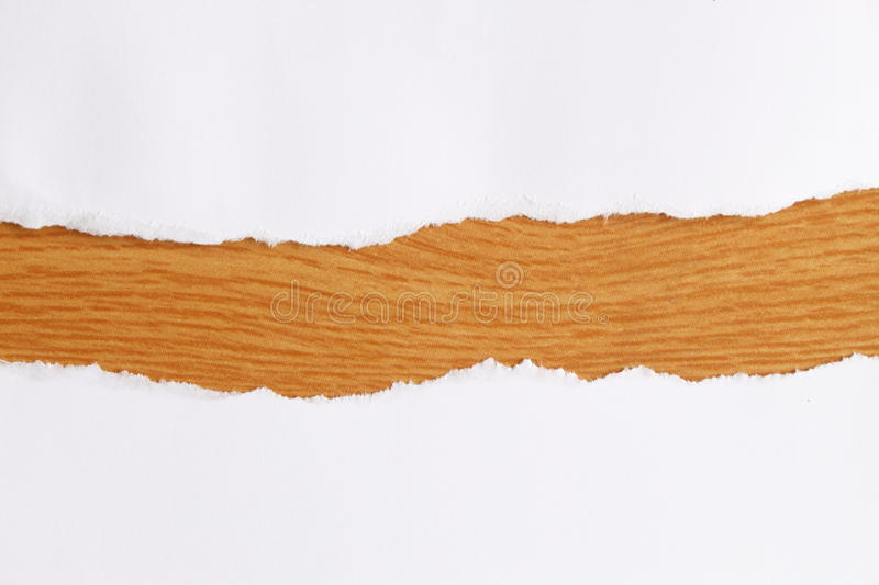 Download Torn Paper With Space Brow Color. Stock Photo - Image: 20375622