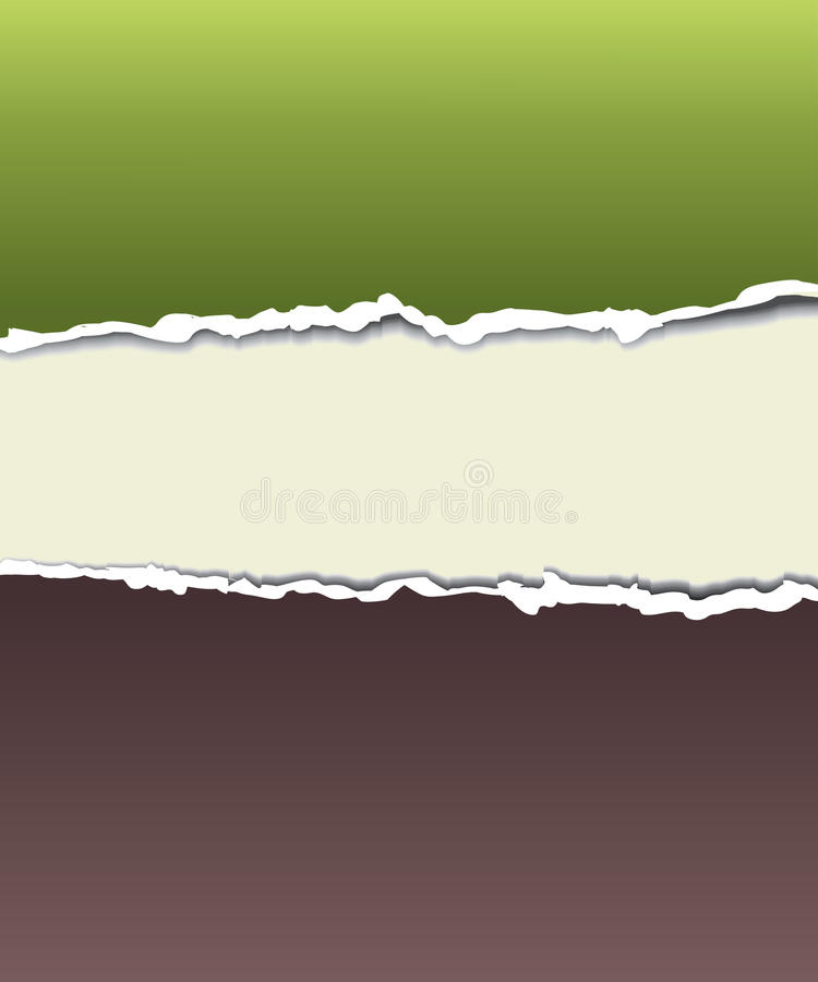 Torn paper for your background stock illustration