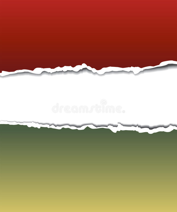 Torn paper for your background. stock illustration