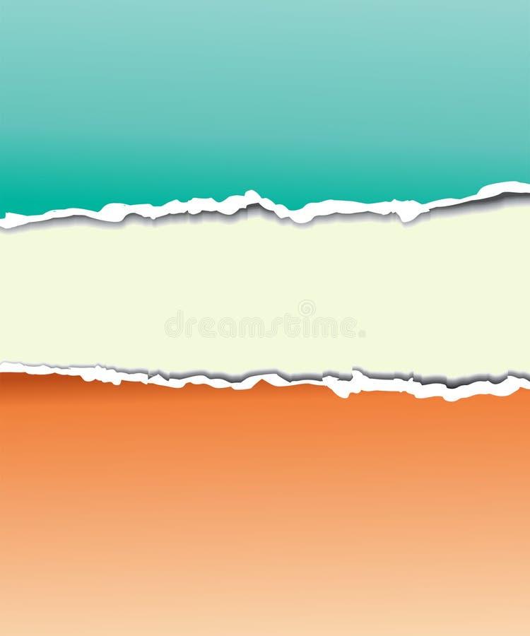 Torn paper for your background. Vector illustration vector illustration