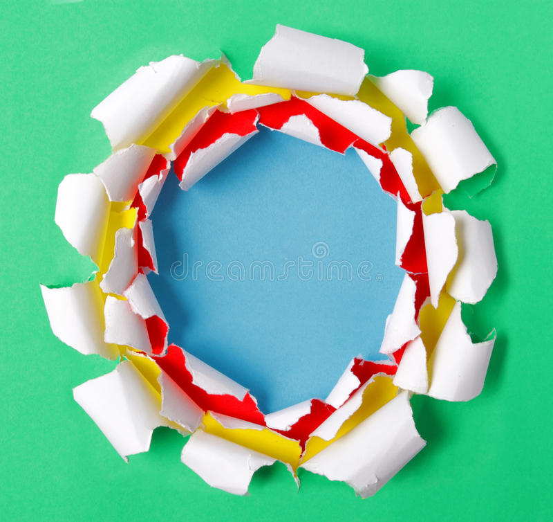 Download Torn papers stock photo. Image of hole, rips, present - 19121070