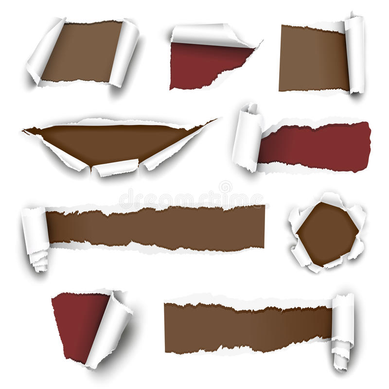 Free Torn Papers Royalty Free Stock Images - 23554159