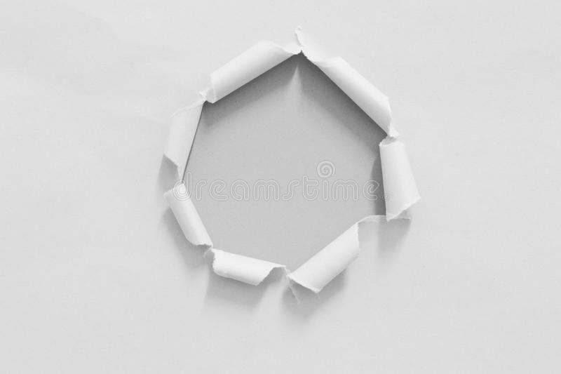 Torn rip paper royalty free stock photos