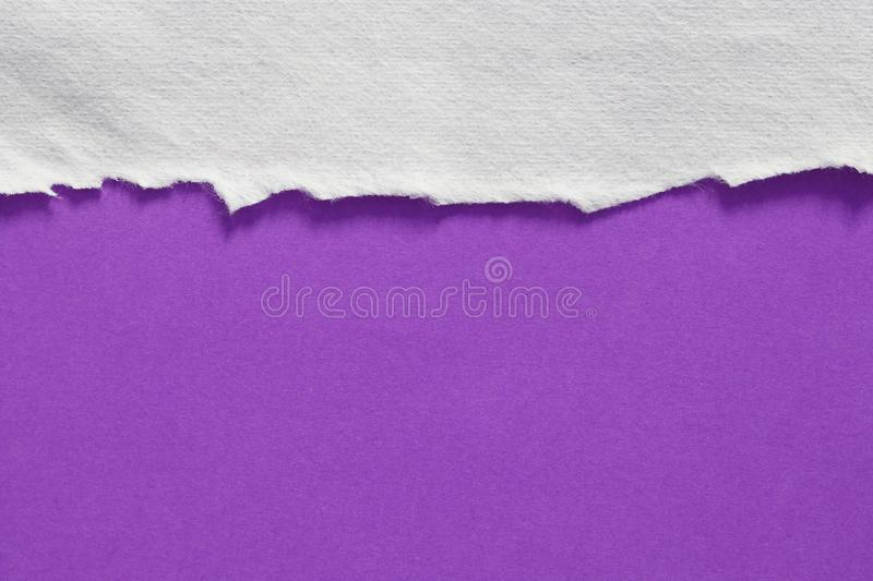 Torn rip paper. Pieces of torn rip paper texture background, with space for text stock image