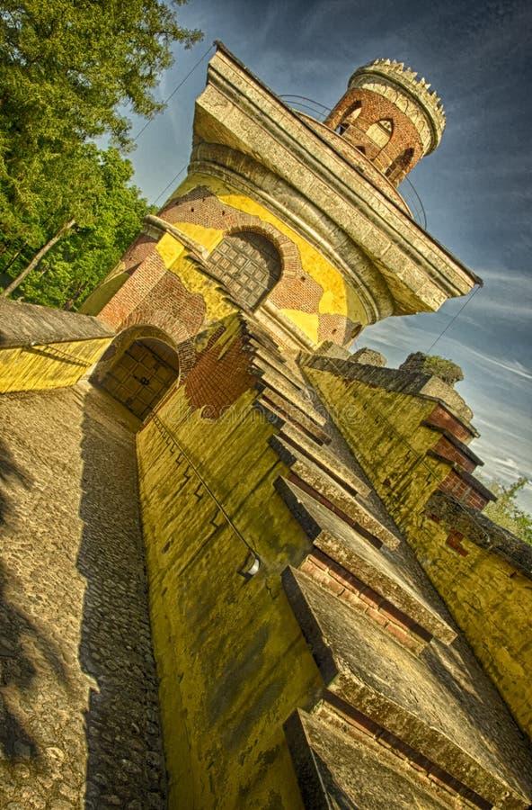 Torn-ruina royaltyfri fotografi