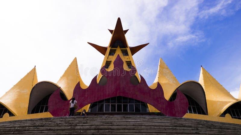 Torn Siger Lampung Indonesien royaltyfri foto