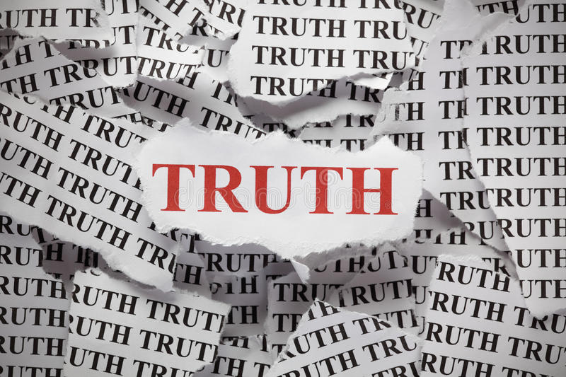 Download Torn Truth stock photo. Image of piece, studio, concepts - 46088472