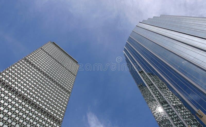 Download Torn två arkivfoto. Bild av höjd, konkret, downtown, högväxt - 275452