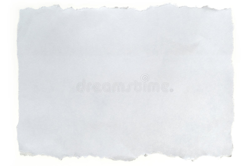 Torn white paper stock photos