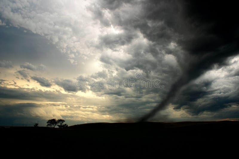 Tornado imagen de archivo libre de regalías