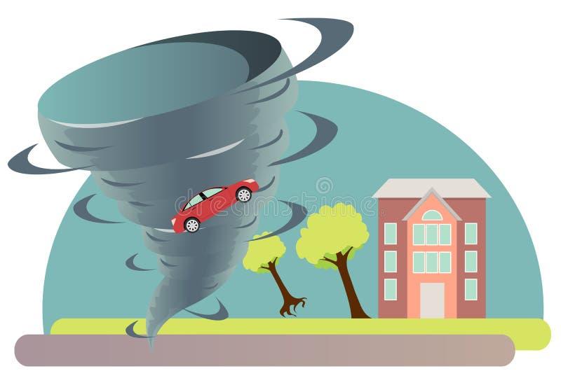 tornado ilustracja wektor