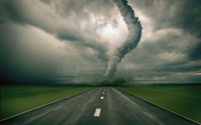 tornado. royalty ilustracja