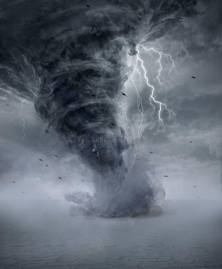 tornado obraz royalty free