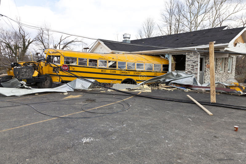 Download Tornado Aftermath In Henryville, Indiana Editorial Stock Photo - Image: 23680988