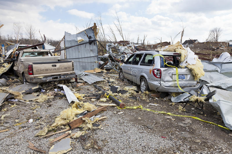 Download Tornado Aftermath In Henryville, Indiana Editorial Photography - Image: 23681102