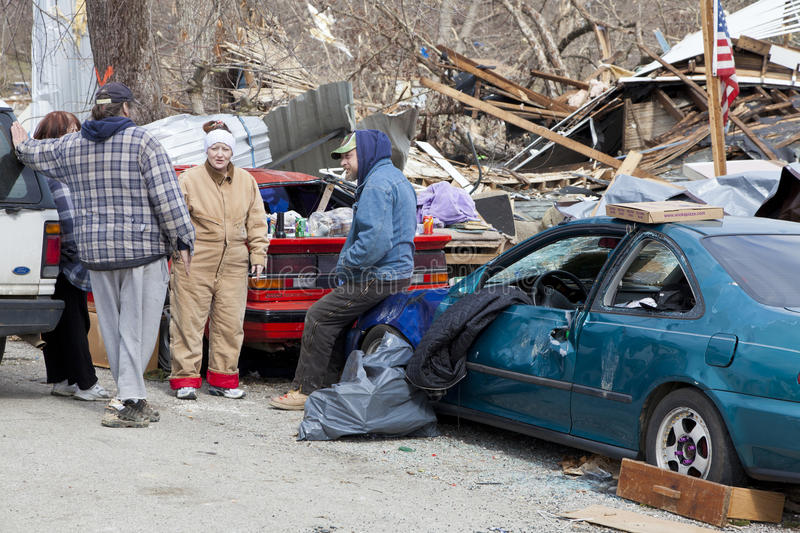 Download Tornado Aftermath In Henryville, Indiana Editorial Stock Image - Image: 23681734
