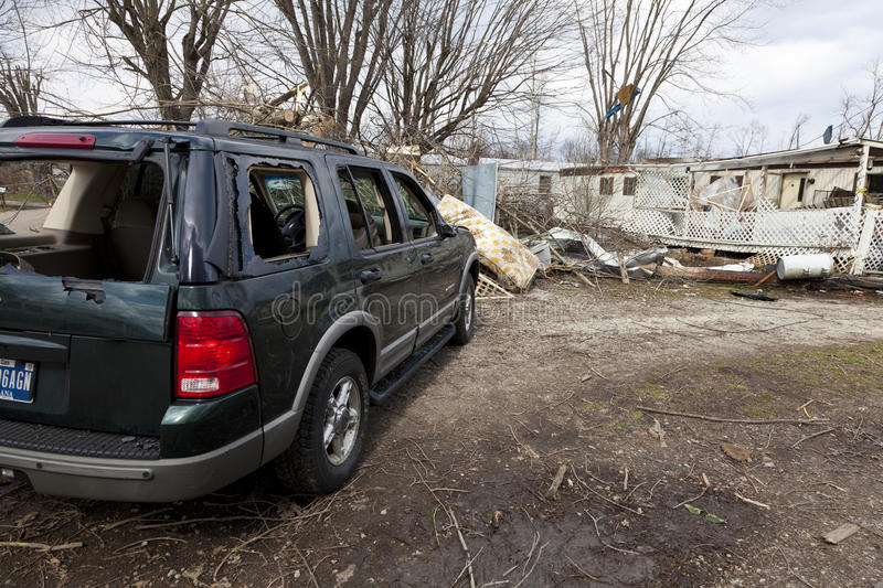 Download Tornado Aftermath In Henryville, Indiana Editorial Photography - Image: 23682337