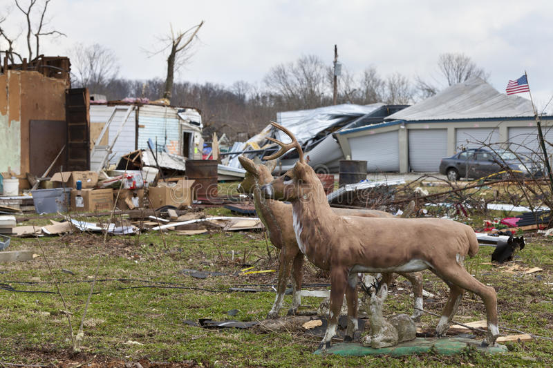Download Tornado Aftermath In Henryville, Indiana Editorial Photography - Image: 23705897
