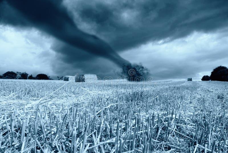 Download Tornado in arrive stock image. Image of hurricane, harvest - 16238401