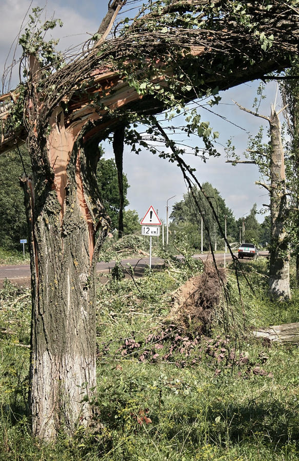 Download Tornado stock photo. Image of road, fracture, nature - 33124306