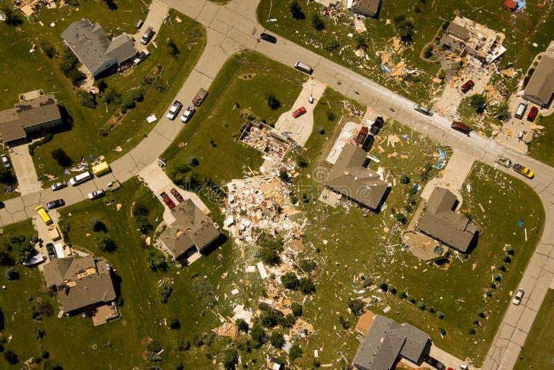 Download Tornado damage stock image. Image of thunder, wisconsin - 14845157