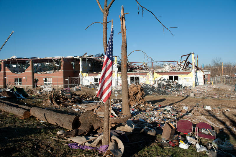 Download Tornado Damage In Henryville, Indiana Editorial Stock Photo - Image: 25081433