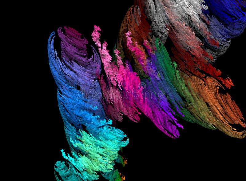 Tornado del color stock de ilustración
