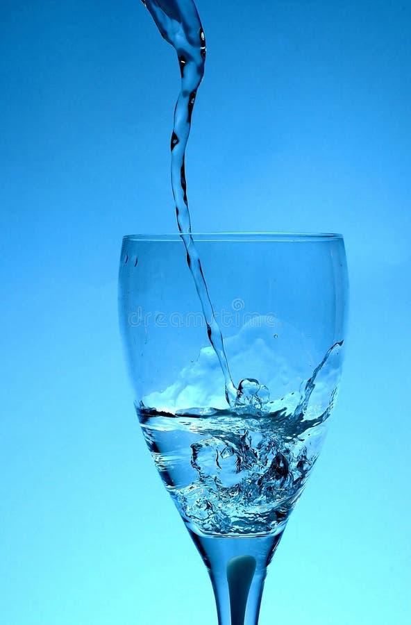 Tornado in einem Glas stockfoto