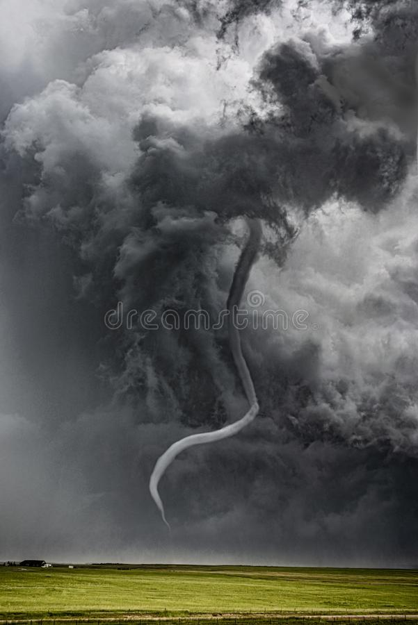 tornado zdjęcie royalty free