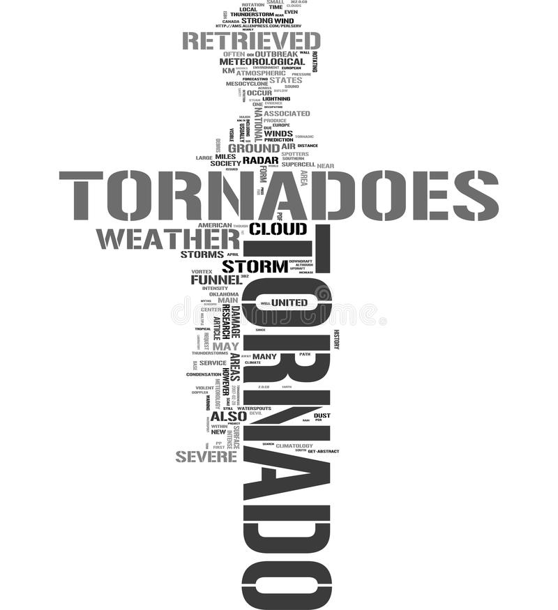Download Tornado Related Words Cloud Stock Illustration - Image: 10925281