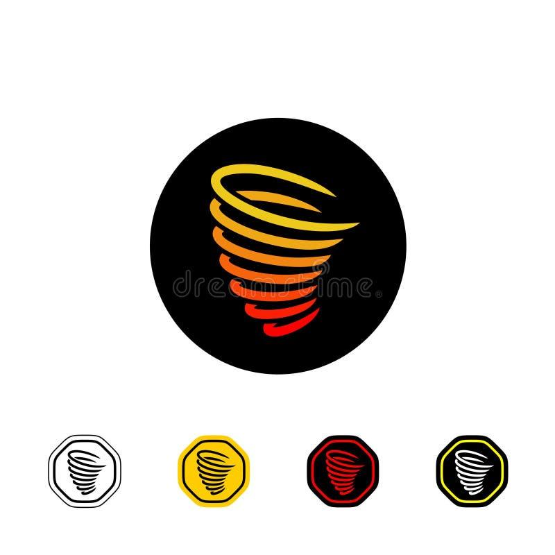 Tornado symbol royalty ilustracja