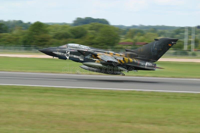 Tornado takeoff royalty free stock photography