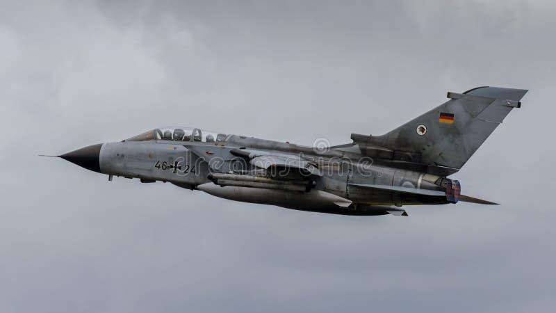 Tornado tedesco dell'aeronautica fotografia stock libera da diritti