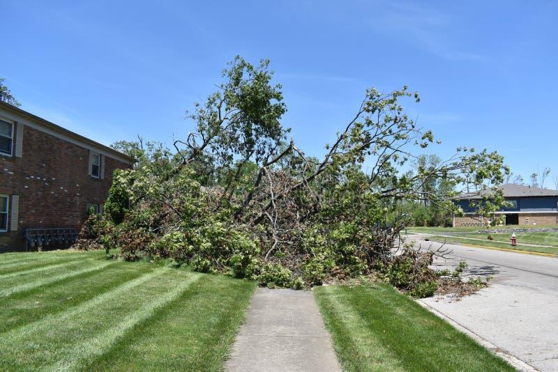 Tornado a vicinanza di Dayton, Ohio fotografia stock