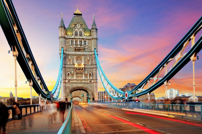 Tornbro - London royaltyfri foto
