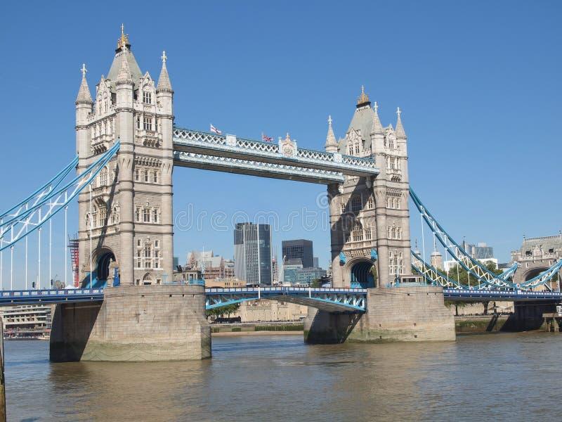 Tornbro London arkivfoto