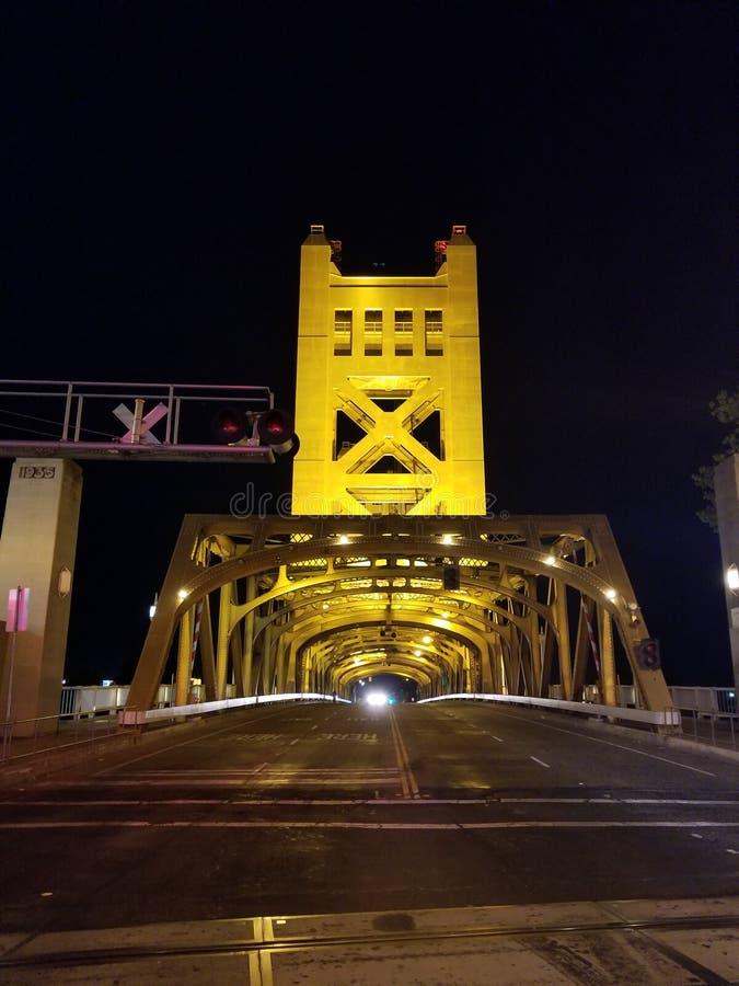 Tornbro, Sacramento, CA, USA arkivbild