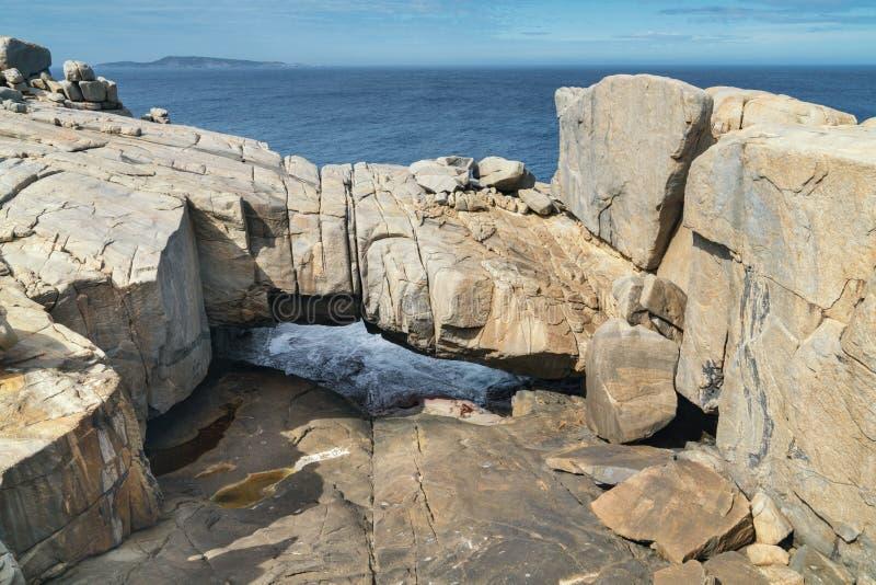 Torndirrup park narodowy, zachodnia australia obraz royalty free