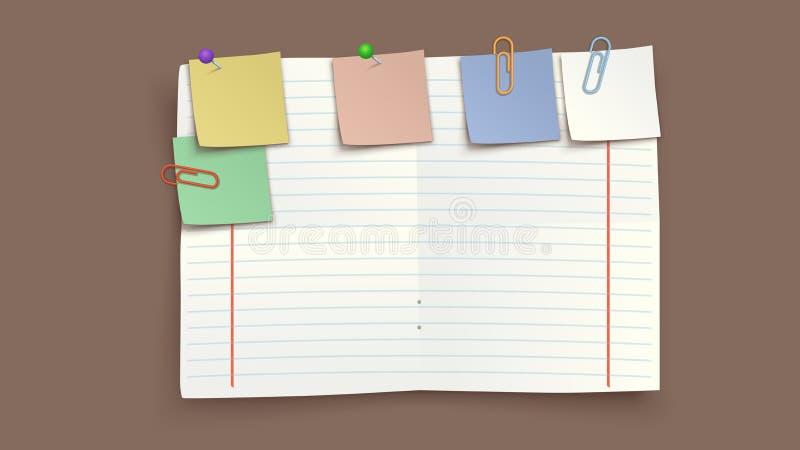 Torned изображение бумаги бесплатная иллюстрация
