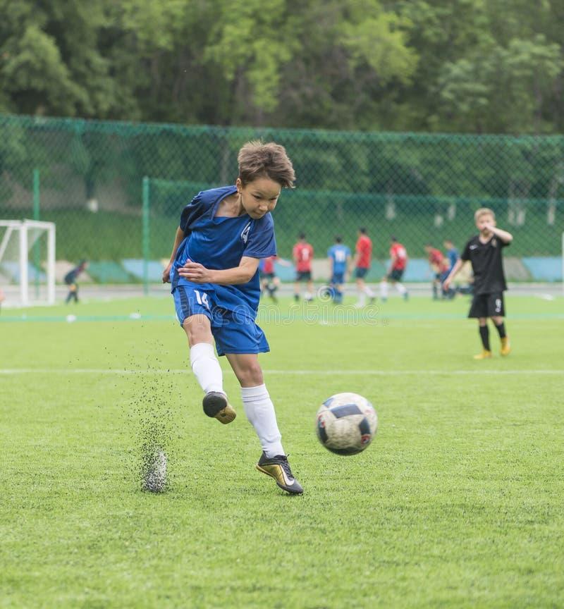 Torneo del fútbol de los niños imágenes de archivo libres de regalías